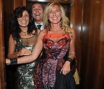 CAMILLO  ED ELENA D'ANTONIO<br /> PARTY DI PAOLO PAZZAGLIA<br /> PALAZZO FERRAJOLI ROMA 2010