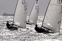 Europe, General Action<br /> 2003 Sail Melbourne<br /> Sandringham YC, Vic. Australia<br /> Wednesday, 15th January<br /> © Sport the library/Jeff Crow