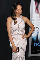 """WESTWOOD, LOS ANGELES, CA, USA - APRIL 10: Tia Mowry at the Los Angeles Premiere Of Warner Bros. Pictures And Alcon Entertainment's """"Transcendence"""" held at Regency Village Theatre on April 10, 2014 in Westwood, Los Angeles, California, United States. (Photo by Xavier Collin/Celebrity Monitor)"""