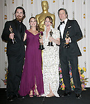 Christian Bale,Natalie Portman,Melissa Leo and Colin Firth attends the 83rd Academy Awards held at The Kodak Theatre in Hollywood, California on February 27,2011                                                                               © 2010 DVS / Hollywood Press Agency