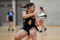 Rugby – Quick Rip Tournament at Te Rauparaha Arena, Porirua, New Zealand on Wednesday 31 March 2021. <br /> Photo by Masanori Udagawa. <br /> www.photowellington.photoshelter.com