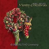 Marcello, CHRISTMAS SYMBOLS, WEIHNACHTEN SYMBOLE, NAVIDAD SÍMBOLOS, paintings+++++,ITMCXM1481,#XX# ,Christmas stockings ,Christmas wreath