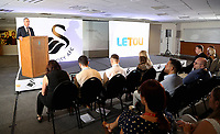 Pictured: Chris Pearlman, COO of Swansea City FC. Monday 19 June 2017<br />