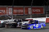 #68: Clay Greenfield, Clay Greenfield Motorsports, Toyota Tundra #19: Derek Kraus, McAnally Hilgemann Racing, Toyota Tundra Gates Hydraulics/NAPA Belts & Hoses