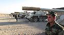 Iraq 2010.The armoured vehicules of the Kurdish army:tanks.Irak 2010.Chars de combat ( Tanks ) de l'armee kurde