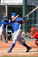 Rebel Ridling - Chicago Cubs - 2009 spring training.Photo by:  Bill Mitchell/Four Seam Images