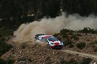 21st May 2021, Arganil, Portugal. WRC Rally of Portugal;  Sebastien Ogier -Toyota Yaris WRC