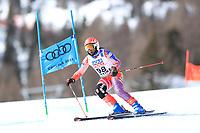 18th February 2021; Cortina d'Ampezzo, Italy;  FIS Alpine World Ski Championships 2021 Cortina  Women's Giant Slalom,  Celine Marti (HAI)