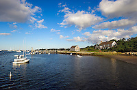 Harbor scenic, Chatham, Cape Cod, Massachusetts, USA
