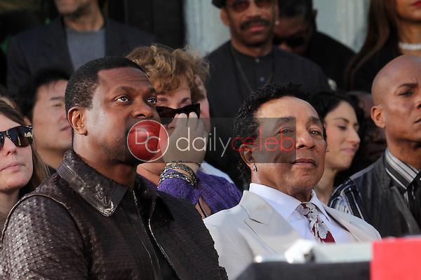 Chris Tucker, Smokey Robinson<br /> at Michael Jackson Immortalized at Grauman's Chinese Theatre, Hollywood, CA 01-26-12<br /> David Edwards/DailyCeleb.com 818-249-4998