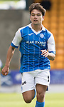 St Johnstone FC Season 2017-18<br />Aaron Comrie<br />Picture by Graeme Hart.<br />Copyright Perthshire Picture Agency<br />Tel: 01738 623350  Mobile: 07990 594431