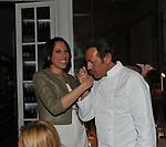 NUNZIA DE GIROLAMO E FILIPPO LA MANTIA<br /> PREMIO GUIDO CARLI - QUARTA EDIZIONE<br /> RICEVIMENTO HOTEL MAJESTIC ROMA 2013