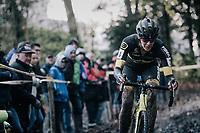 Ellen Van Loy (BEL/Telenet Fidea Lions)<br /> <br /> Women's race<br /> Superprestige Gavere / Belgium 2017