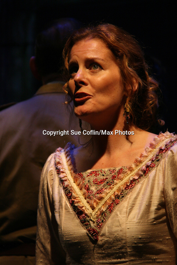 """Liz Keifer as Philipstown Depot Theatre presents The Secret Garden on November 15, 2009 in Garrison, New York. The musical The Secret Garden is the story of """"Mary Lennox"""", a rich spoiled child who finds herself suddenly an orphan when cholera wipes out the entire Indian village where she was living with her parents. She is sent to live in England with her only surviving relative, an uncle who has lived an unhappy life since the death of his wife 10 years ago. """"Archibald's son Colin"""", has been ignored by his father who sees Colin only as the cause of his wife's death.This is essentially the story of three lost, unhappy souls who, together, learn how to live again while bringing Colin's mother's garden back to life. (Photo by Sue Coflin/Max Photos)........"""