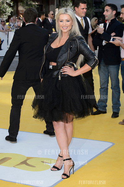 """Nicola McLean at the world premiere of """"Minions"""" at the Odeon, Leicester Square, London.<br /> June 11, 2015  London, UK<br /> Picture: Dave Norton / Featureflash"""