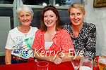 Enjoying the reopening of indoor dining in Cassidys on Monday, l to r: Chrissie and Michelle Moroney and Majella Lillis.