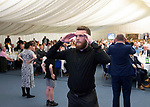St Johnstone Player of the Year Awards Season 2018/2019, Dewars Centre, Perth 18.05.19<br />Zander Clark playing heads and tails<br />Picture by Graeme Hart.<br />Copyright Perthshire Picture Agency<br />Tel: 01738 623350  Mobile: 07990 594431