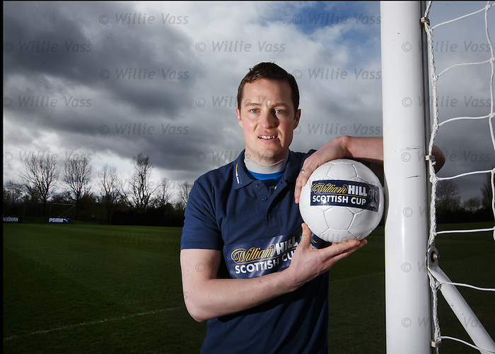 Jon Daly looking forwards to facing his old side Dundee Utd at Ibrox in the Scottish Cup
