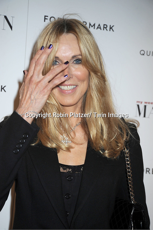 """Alana Stewart attends The New York Premiere of """"My Week With Marilyn"""" on November 13, 2011 at the Paris Theatre in New York City. The movie stars Michelle Williams, Kenneth Branagh, Dominic Cooper and Zoe Wanamaker."""