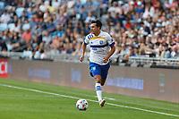 SAINT PAUL, MN - JULY 3: Shea Salinas #6 of the San Jose Earthquakes during a game between San Jose Earthquakes and Minnesota United FC at Allianz Field on July 3, 2021 in Saint Paul, Minnesota.