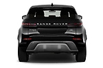 Straight rear view of 2020 Land Rover Range-Rover-Evoque SE 5 Door SUV Rear View  stock images