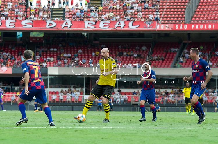 São Paulo (SP), 15/12/2019 - Futebol-Legendscup - Partida entre as lendas de Barcelona e Borussia Dortmund no estádio do Morumbi, em São Paulo (SP), domingo (15).