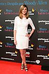 """Manuela Velasco attend the Premiere of the movie """"Magic in the Moonlight"""" at callao Cinema in Madrid, Spain. December 2, 2014. (ALTERPHOTOS/Carlos Dafonte)"""