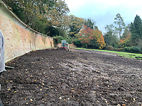 BNPS.co.uk (01202) 558833. <br /> Pic: CareySecretGarden/BNPS<br /> <br /> Carey Secret Garden taking shape<br /> <br /> The new owners of a historic country estate have discovered an overgrown secret garden that had lain untouched and forgotten for more than 40 years.<br /> Simon Constantine was astounded when he and his children went off exploring the grounds of Carey House near Wareham, Dorset, and found the 'lost' walled garden behind a padlocked gate.<br /> The 3.5 acre plot was built 140 years ago and would have at one stage served both the estate and the wider community with fresh fruit, vegetables and cut flowers back in the day.