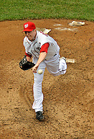 15 May 2012: Washington Nationals pitcher Tom Gorzelanny faces the San Diego Padres at Nationals Park in Washington, DC. The Padres defeated the Nationals 6-1 to split their 2-game series. Mandatory Credit: Ed Wolfstein Photo