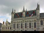 Town Hall Stadhuis 1376, Civil Registry 1543, Burg Square, Bruges, Brugge, Belgium