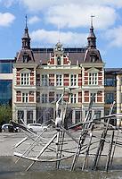 Rathaus am Stora Torg in Kristianstad, Provinz Skåne (Schonen), Schweden, Europa<br /> Town hall at Stora Torg  in Kristianstad, Province Skåne, Sweden