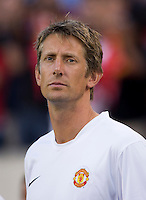 Edwin van der Sar. Manchester United defeated Philadelphia Union, 1-0.