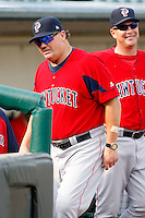 July 22, 2009:  Manager Ron Johnson of the Pawtucket Red Sox during a game at Frontier Field in Rochester, NY.  Pawtucket is the Triple-A International League affiliate of the Boston Red Sox.  Photo By Mike Janes/Four Seam Images