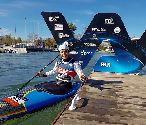 Liam Jegou's historic World Cup Gold Medal at the ICF World Cup in Pau was the deciding factor in the awarding of Athlete of the Year