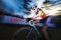 Belgian Champion Sanne Cant (BEL)<br /> <br /> GP Sven Nys 2014 / Elite Women