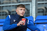 St Johnstone v Lask…26.08.21  McDiarmid Park    Europa Conference League Qualifier<br />Liam Gordon pictured in the stands, missing out due to a knee injury<br />Picture by Graeme Hart.<br />Copyright Perthshire Picture Agency<br />Tel: 01738 623350  Mobile: 07990 594431