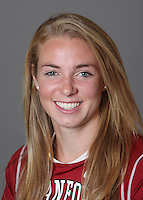 STANFORD, CA - OCTOBER 29:  Eleanor Foote of the Stanford Cardinal women's lacrosse team poses for a headshot on October 29, 2009 in Stanford, California.