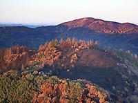 Nun Fire in the Mayacama Mountains, Sonoma County, California, northern California wildfires, 2017