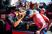 Toyota Racing Experience, fans, crowd, Antron Brown, Matco Tools