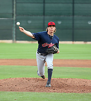 Luke Eubank - Cleveland Indians 2019 spring training (Bill Mitchell)