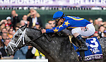 October 30, 2015 : Liam's Map, ridden by Javier Castellano, wins the Las Vegas Breeders' Cup Dirt Mile (Grade I) at Keeneland Race Course in Lexington, Kentucky October 30, 2015.  Candice Chavez/ESW/CSM