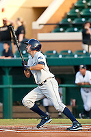 Henry Wrigley (15) of the Charlotte Stone Crabs during a game vs. the Lakeland Flying Tigers May 11 2010 at Joker Marchant Stadium in Lakeland, Florida. Charlotte won the game against Lakeland by the score of 3-0.  Photo By Scott Jontes/Four Seam Images