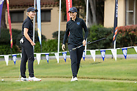 STANFORD, CA - APRIL 24: Annabel Wilson, Emilie Paltrinieri at Stanford Golf Course on April 24, 2021 in Stanford, California.