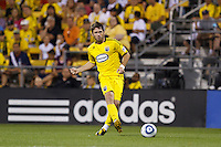 3 JULY 2010:  Danny O'Rourke of the Columbus Crew (5) during MLS soccer game between Chicago Fire vs Columbus Crew at Crew Stadium in Columbus, Ohio on July 3, 2010.