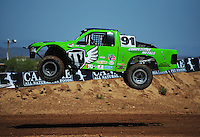 Apr 15, 2011; Surprise, AZ USA; LOORRS driver Nick Tyree (91) during round 3 and 4 at Speedworld Off Road Park. Mandatory Credit: Mark J. Rebilas-.