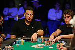 David Paredes agonizes over making a call of Tom Marchese, right, who is all in.