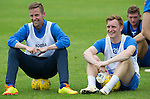 St Johnstone Pre-Season Training in Northern Ireland.. 08.07.16<br />Steven MacLean and Liam Craig<br />Picture by Graeme Hart.<br />Copyright Perthshire Picture Agency<br />Tel: 01738 623350  Mobile: 07990 594431