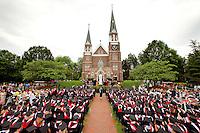 Belmont Abbey College Graduation 2011