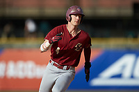 Mitch Bigras (4) of the Boston College Eagles hustles towards third base against the North Carolina State Wolfpack in Game Two of the 2017 ACC Baseball Championship at Louisville Slugger Field on May 23, 2017 in Louisville, Kentucky. The Wolfpack defeated the Eagles 6-1. (Brian Westerholt/Four Seam Images)
