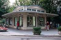 Deutschland, Baden-Württemberg, Jugendstil-Kiosk in Baden-Baden